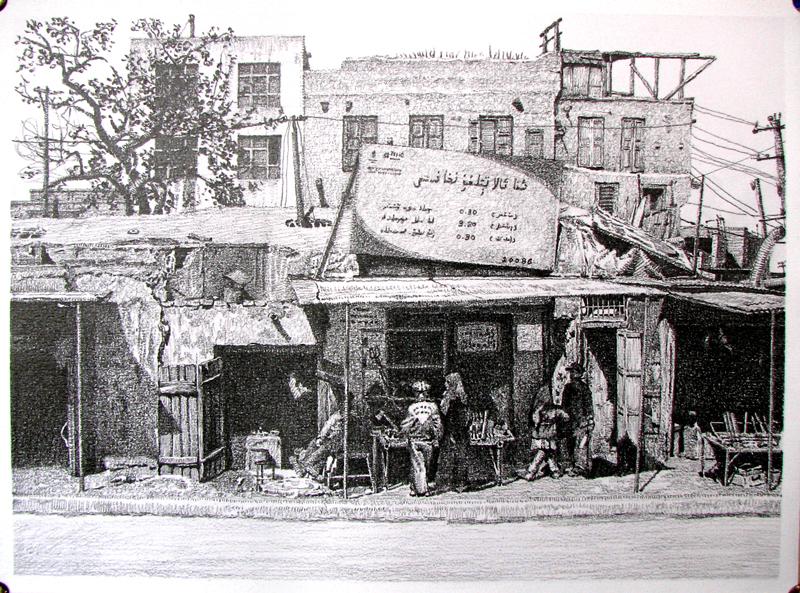 铅笔手绘《南疆记忆》1|商业插画|插画|柃森