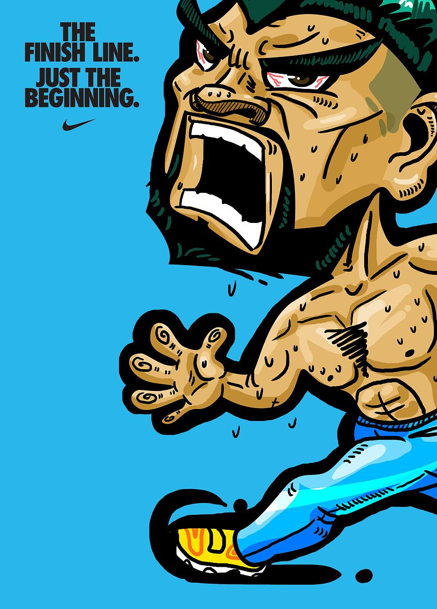耐克卡通人物壁纸