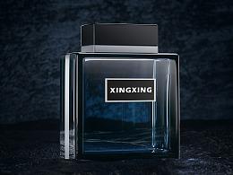 香水 建模渲染图