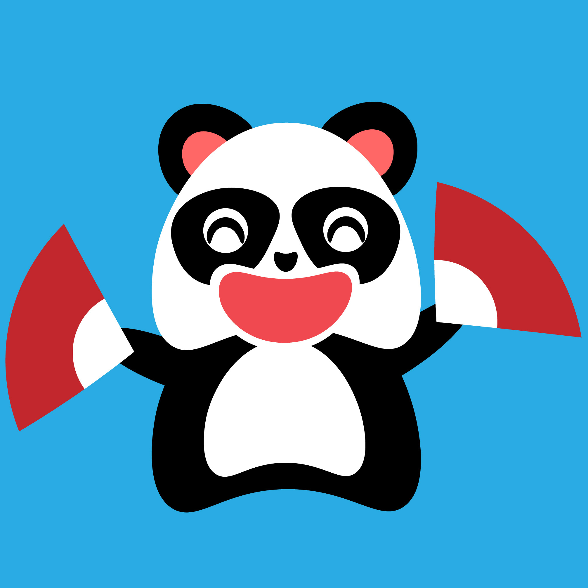 熊猫pandas表情包图片