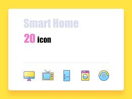 20个智能家居icon