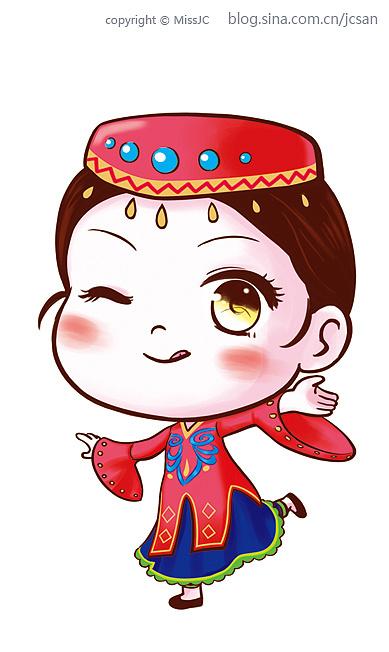 新疆西圣果业系列卡通设计(已上市)
