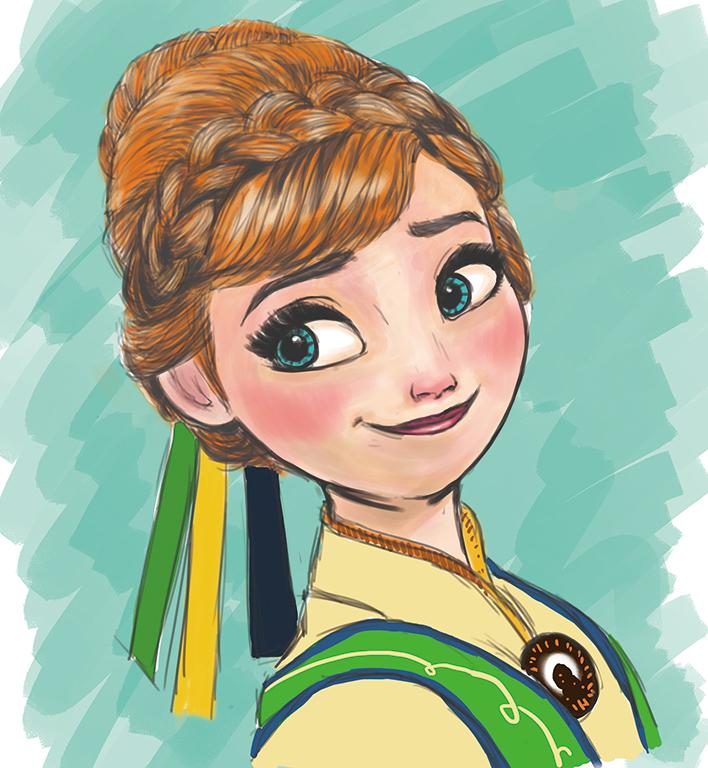 安娜爱莎手绘唯美