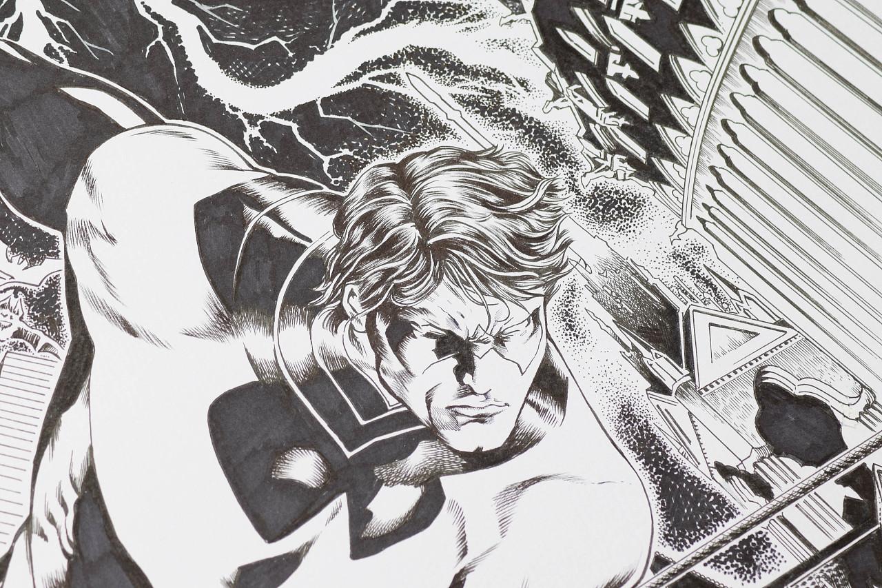 临摹英雄,科学毛笔/马克笔手绘|动漫|动画片|阿恒