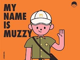 MUZZY/IP形象设计