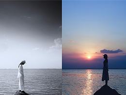 見海是海,見藍便是藍,唯獨見了你.......
