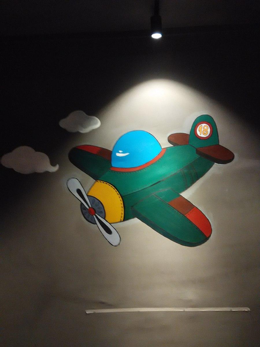 南丫岛海鲜阁 艺术手绘墙