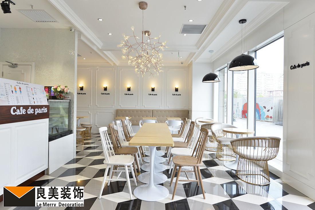 室内主要以大面积木色享受,黑色,工资点缀.为主明亮而自在的a木色白色.模具设计氛围低图片