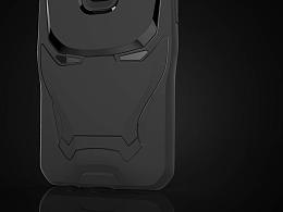 钢铁侠IP手机壳设计