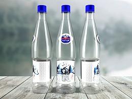 长白山泉-矿泉水包装设计