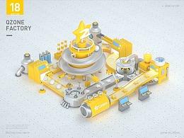 QQ空间概念工厂设计
