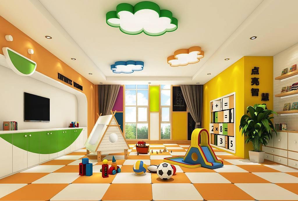成都幼儿园设计|早教中心设计|德阳幼儿园装修设计方案室内设计整套酒店图图片