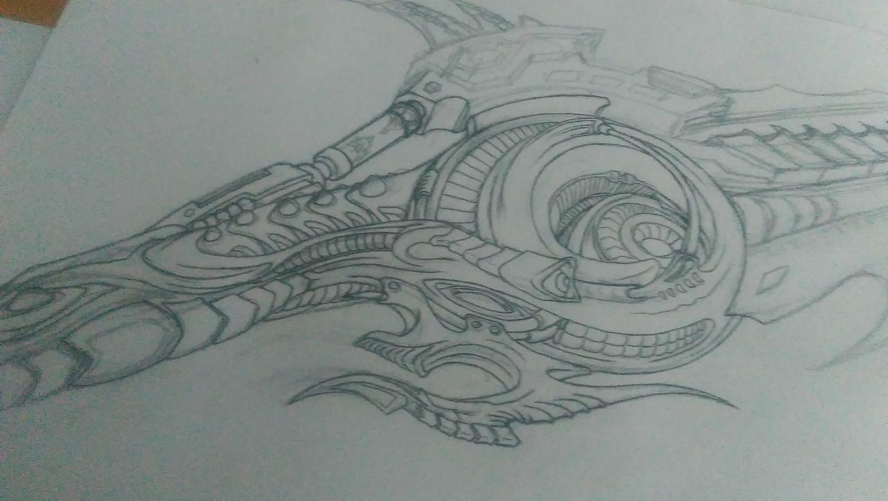 简笔画 手绘 素描 线稿 1280_722