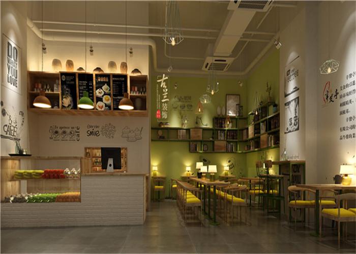 辛发亭甜品店|室内设计|空间/建筑|成都商铺装修公司