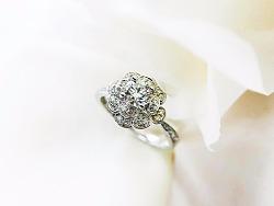 梵尼洛芙珠宝 | 洛可可女王系列求婚钻戒【薇拉 VERA】