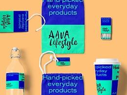 消费升级设计品礼品Lifestyle商店品牌形象设计
