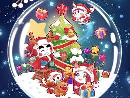 大家圣诞快乐!