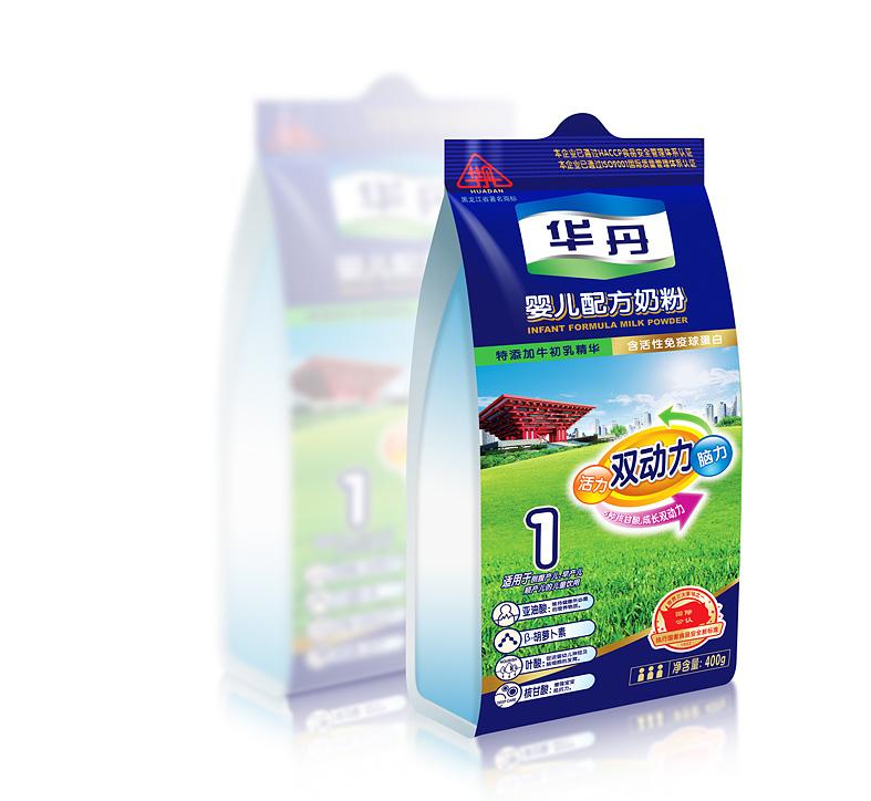 一款奶粉的袋装设计方案|包装|平面|yop2049
