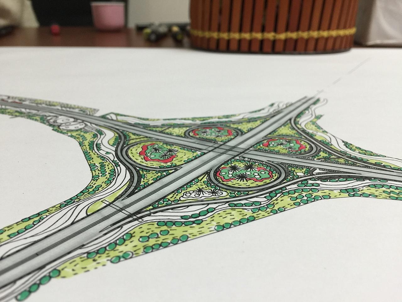 景观手绘|平面|其他平面|杜静文 - 原创作品 - 站酷