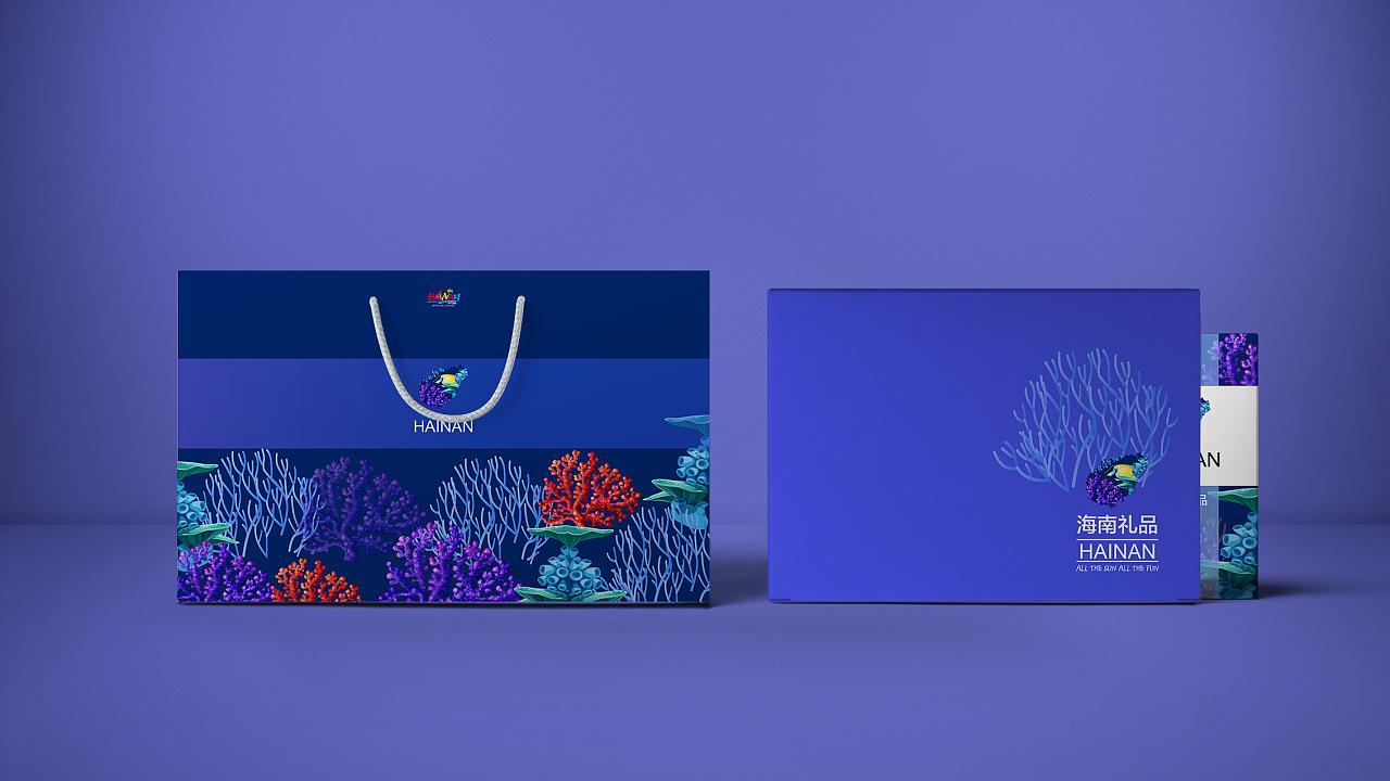 一个包装设计的场景图,嘻嘻~~ 这套包装是用于旅游景点的小礼品包装图片