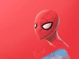 蜘蛛侠,小图速写