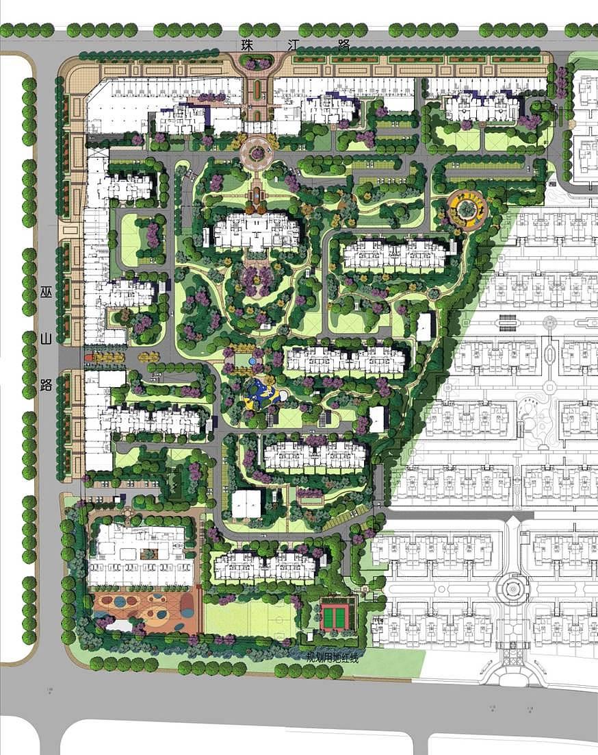 小区景观设计平面图室内设计的引言图片