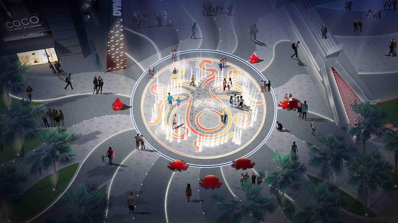 主题式商业街景观规划设计图片