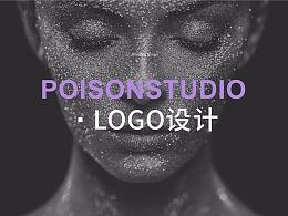 【POISONSTUDIO】 摄影工作室 LOGO设计