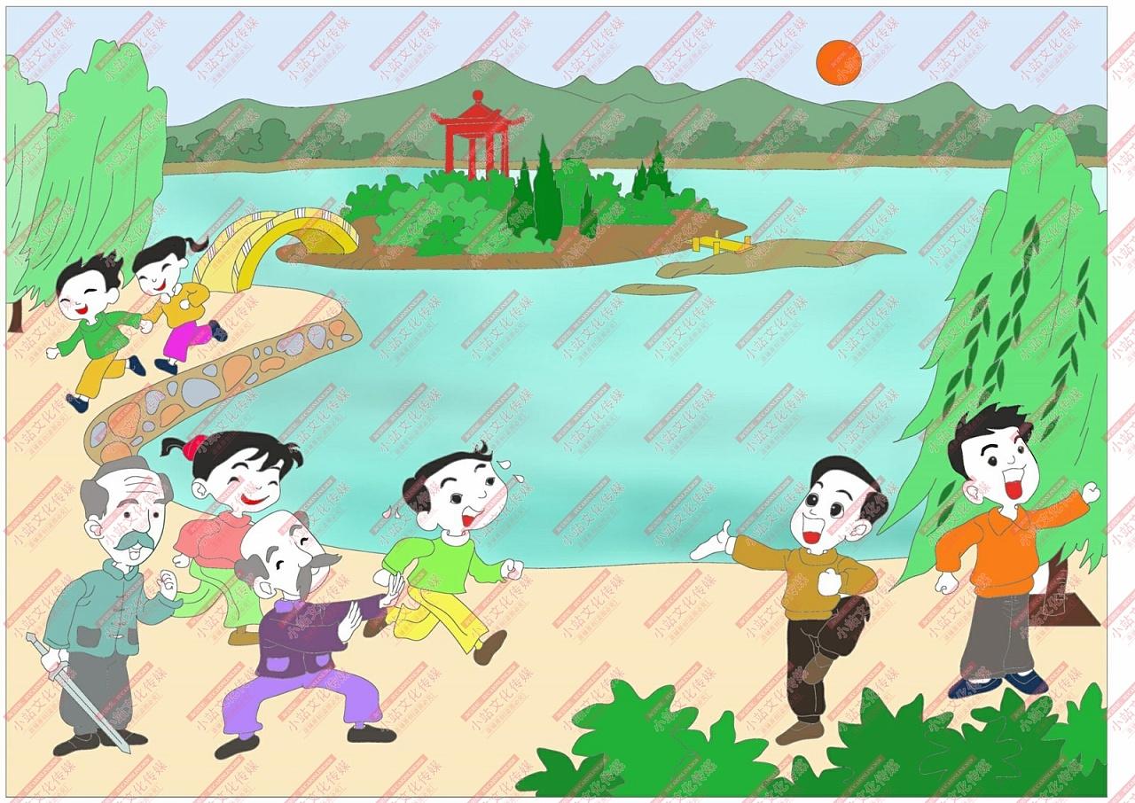 作品学生电脑绘画作品中小学小学绘画作品制外国语电脑v作品九江图片