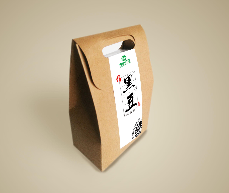 毕业设计五谷包装产品作品