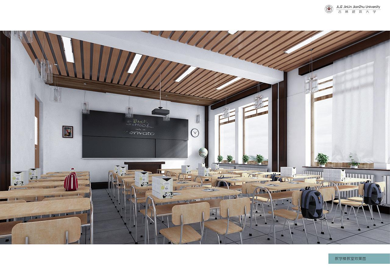 大三学校建筑设计图片