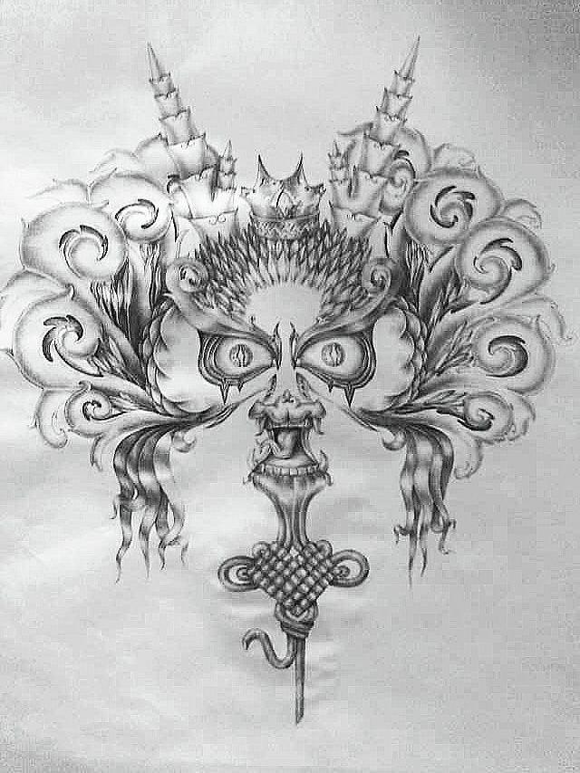手绘龙|其他绘画|插画|无脸 - 原创设计作品 - 站酷