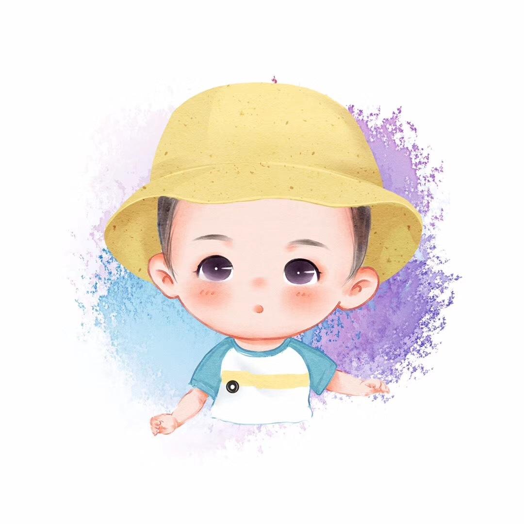萌娃风 肖像 孩子保镖 熊漫画手绘馆YJ-原创作熊胖动漫漫画胖熊图片
