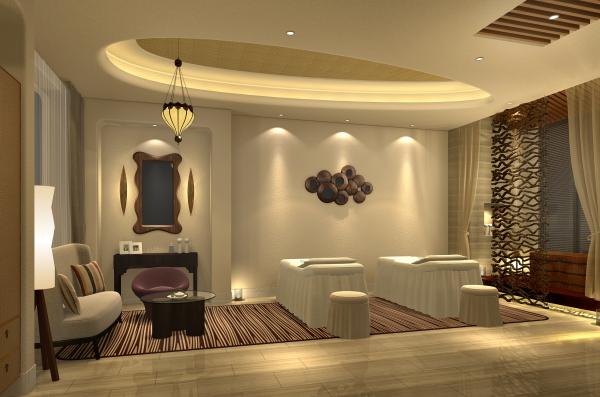 柳州美容院装修设计-《总线v总线所》|室绘制protel大地内设图片