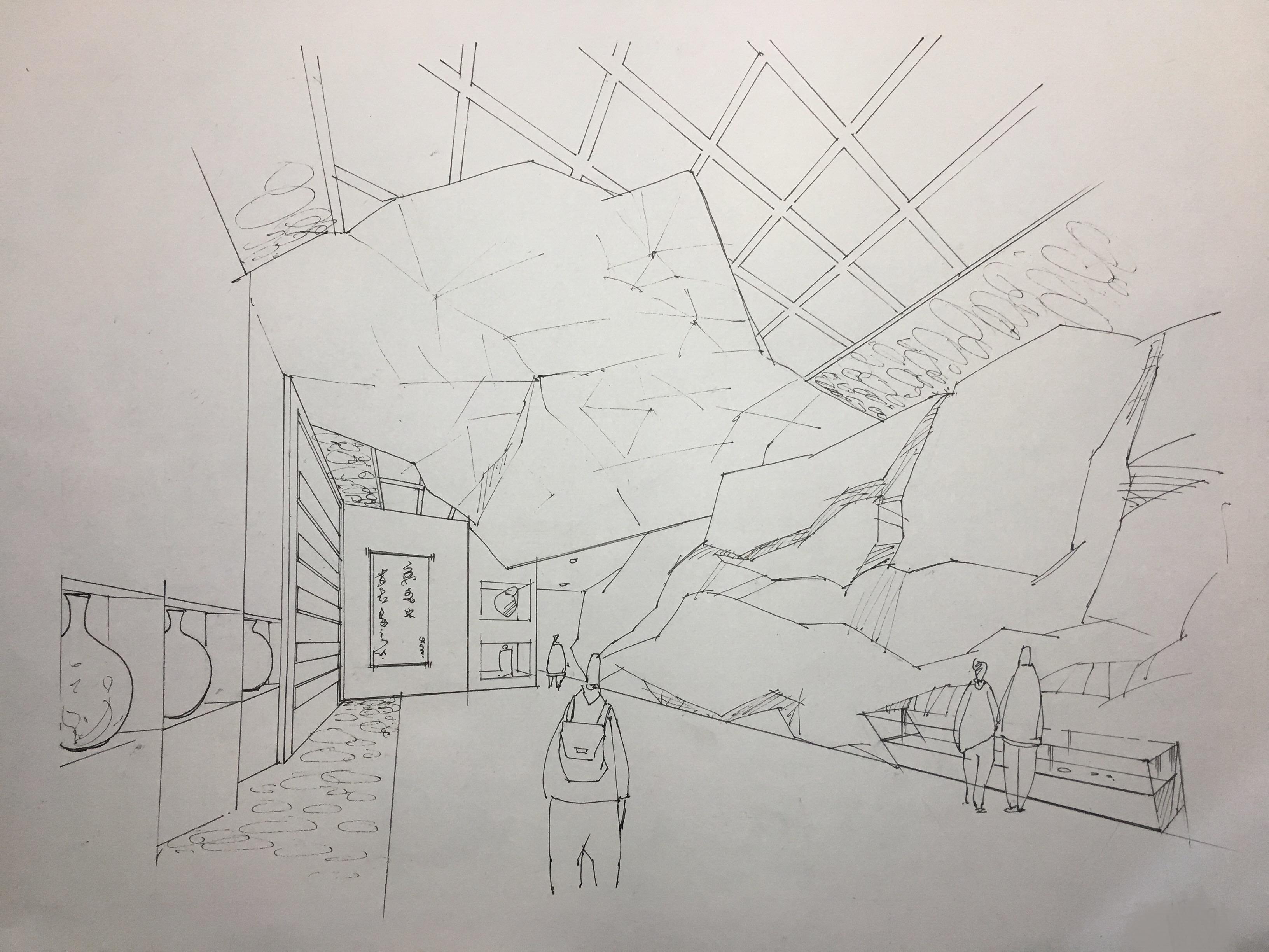 室内手绘临摹练习