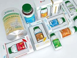 jintoo保健品包装设计