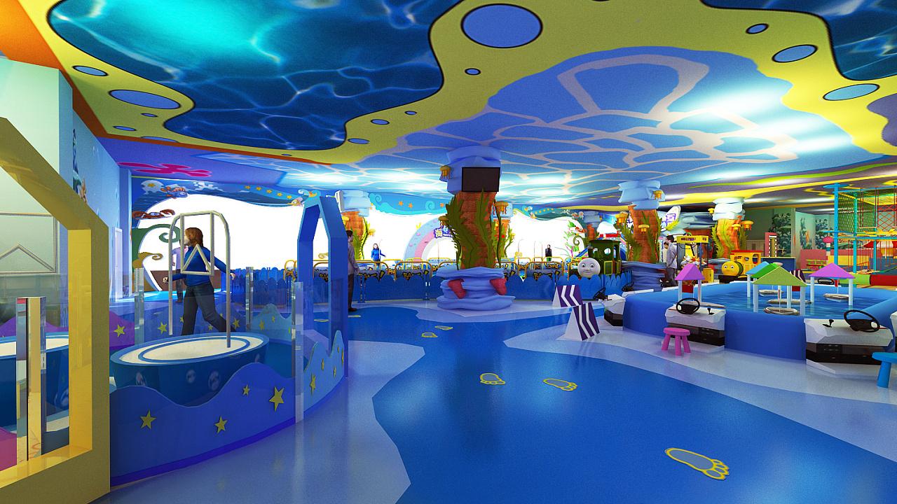 儿童职业体验游乐场800平室内设计