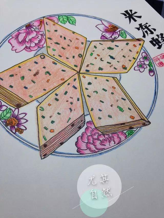 手绘三明永安小吃|绘画习作|插画|蝎子7260 - 原创