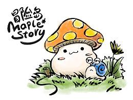 Maple Story 冒险岛写生簿(一)