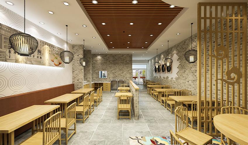 专业特色双流小吃店装修设计-成都特色小吃店