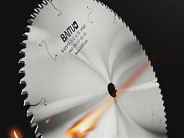 铝合金锯片|电商产品场景渲染