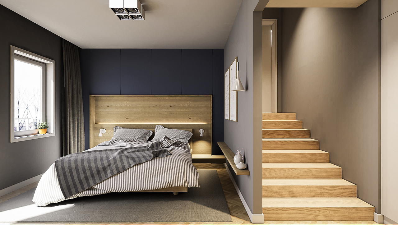 《一间卧室》虚幻4|空间|室内设计|iwmi - 原创作品