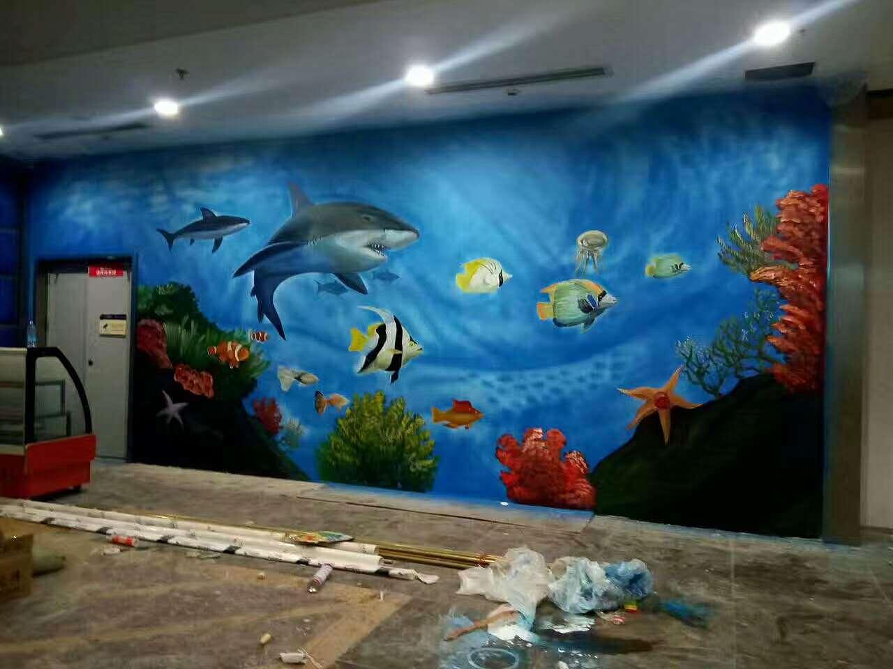餐厅海洋系列