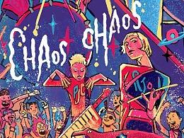 摇滚音乐节—海报