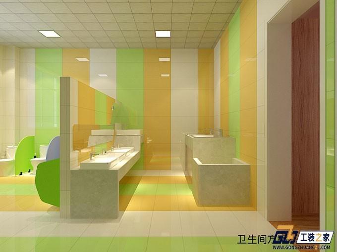 西安工装设计图_西安幼儿喜爱幼儿园装修设计图|空间|室内设计|工装之家装修网 ...