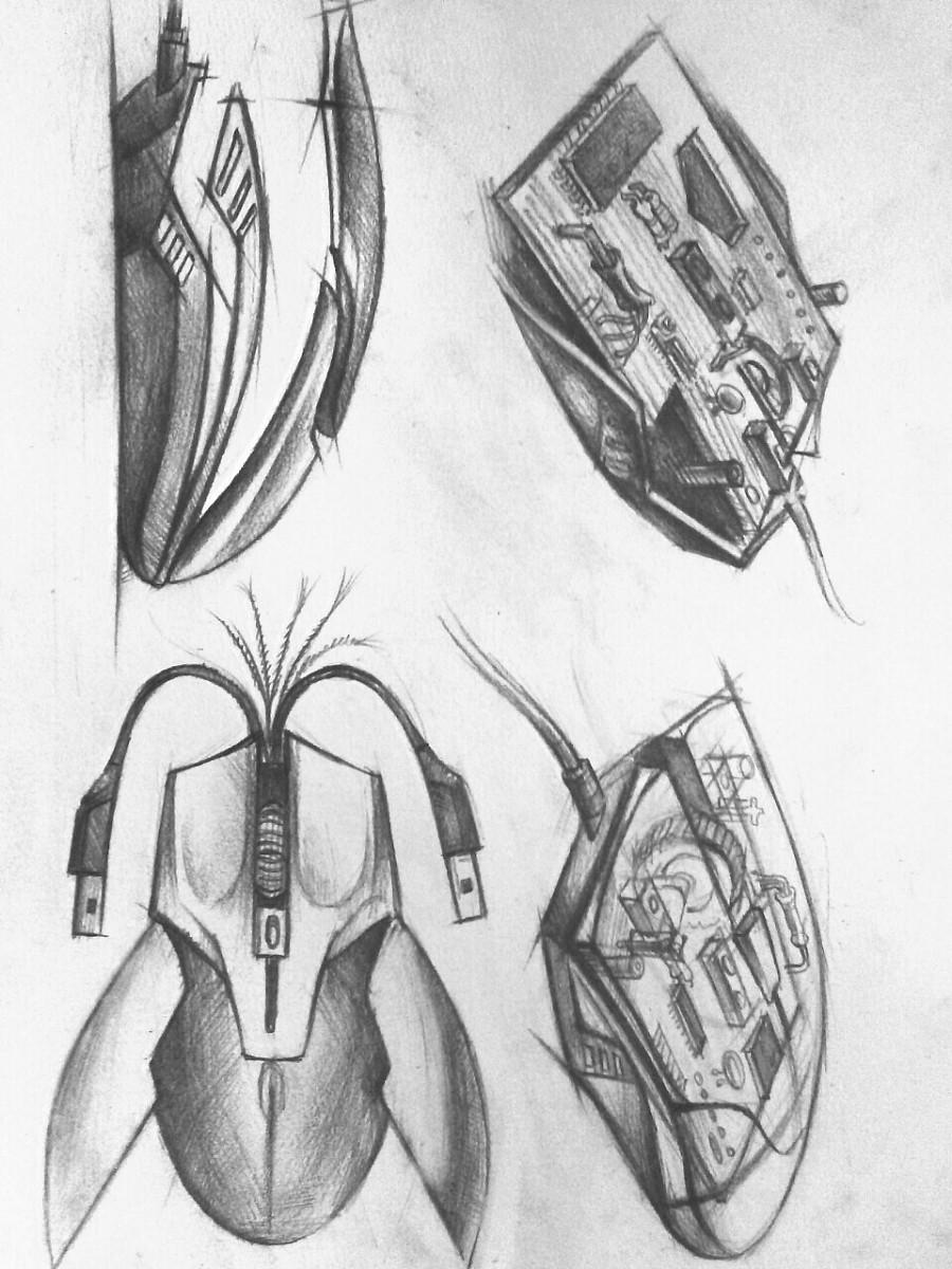 工业设计手绘习作