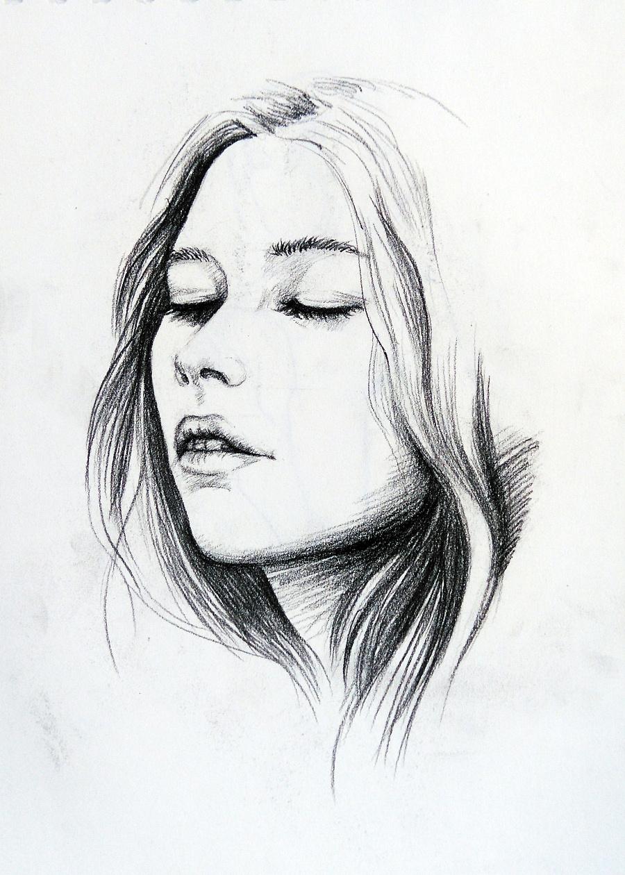 一些黑白手绘-1