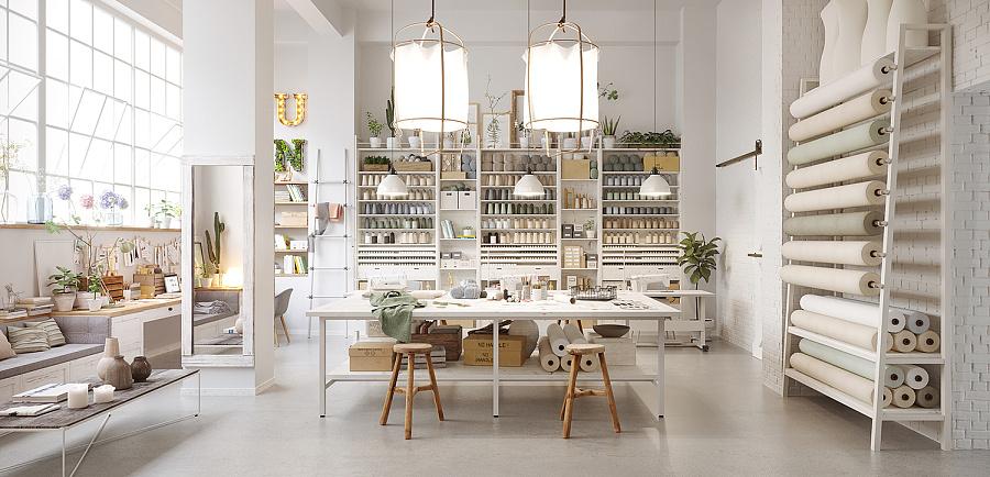 服装设计工作室|室内设计|空间|atng糖 - 原创设计