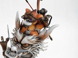 末匠丨蒸汽西游系列: 《Chinese White Dragon》