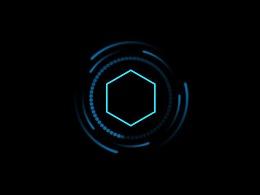 科技感圆圈转动动画